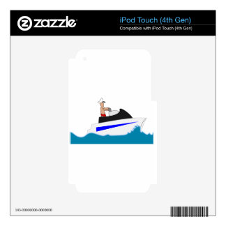 boat sport sports vacation water wave waves wet iPod touch 4G decals