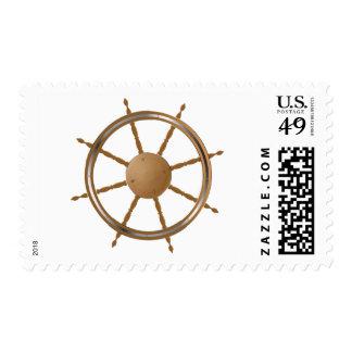 Boat Steering Wheel Postage