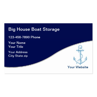 Boat Storage Business Cards