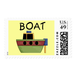BOAT T-shirts and Gifts Postage Stamps