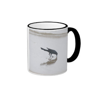 Boat-Tailed Grackle Digging for a Meal Series Mug