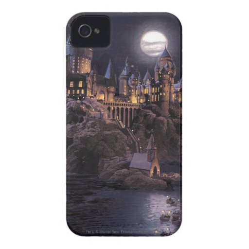 Boat to Hogwarts Castle iPhone 4 Cover