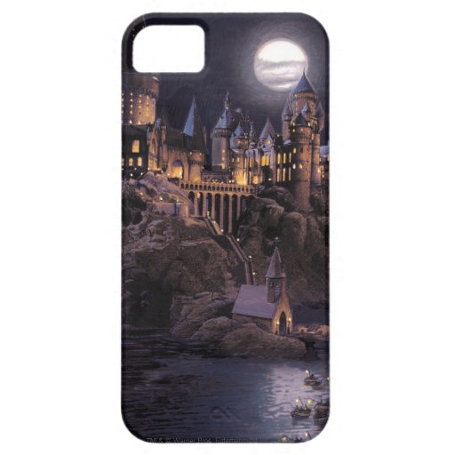 Boat to Hogwarts Castle iPhone 5 Cases