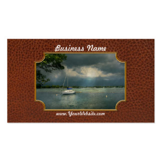 Boat - Tranquility before the storm Business Card