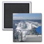 Boat Trip Refrigerator Magnet