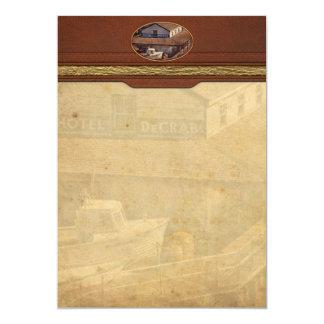 Boat - Tuckerton Seaport - Hotel DeCrab Card