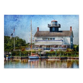 Boat - Tuckerton Seaport - Tuckerton Lighthouse Card