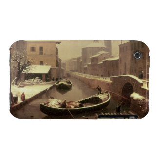 Boat under the Snow iPhone 3 Cases