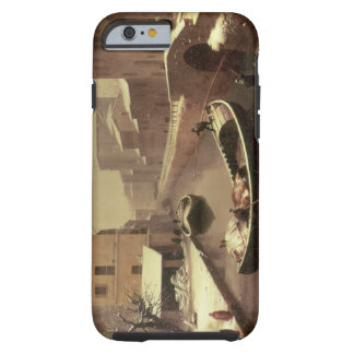 Boat under the Snow Tough iPhone 6 Case