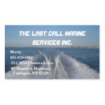 Boat Wake Double-Sided Standard Business Cards (Pack Of 100)