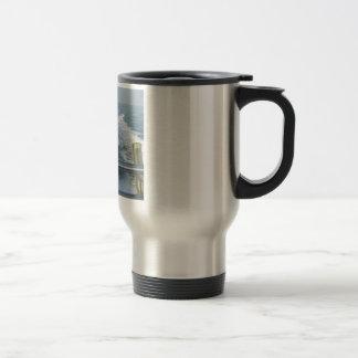 BOAT WAKE Let s go Fishing Coffee Mugs