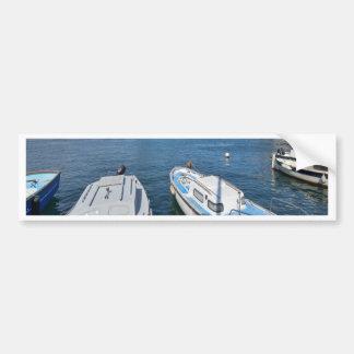 Boat water peace calm and joy bumper sticker