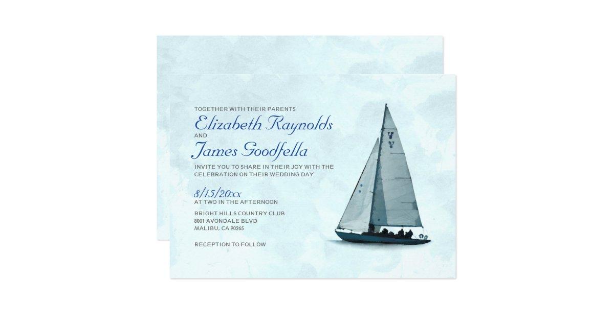 boat wedding invitations - 28 images - personalized cruise ship ...
