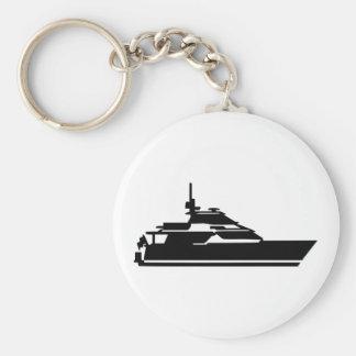 Boat - yacht key chain