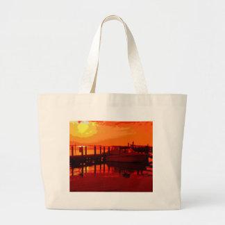 Boaters Beware Large Tote Bag