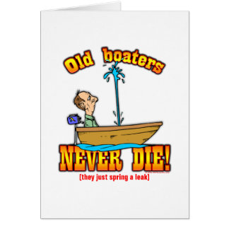 Boaters Greeting Card