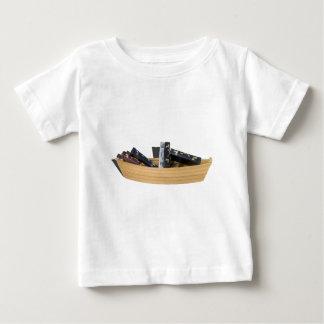 BoatFilledBriefcases061315.png Baby T-Shirt