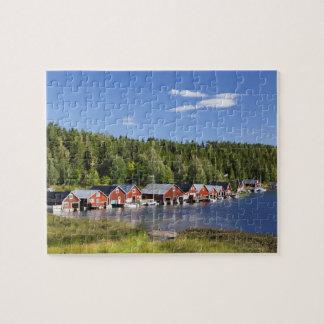 Boathouse at The High Coast Jigsaw Puzzle