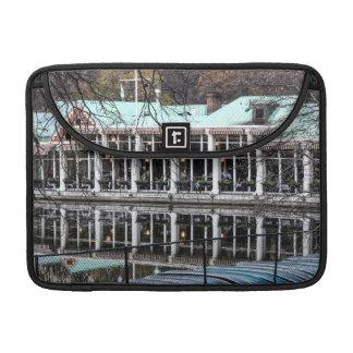Boathouse del restaurante de Loeb del Central Park Funda Macbook Pro