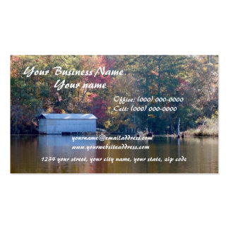 Boathouse en la tarjeta de visita de la cala de