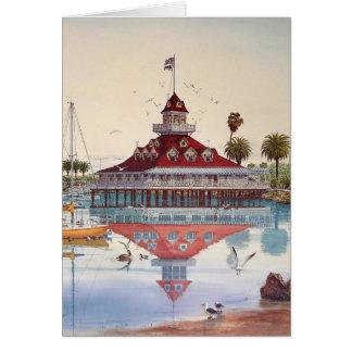 BOATHOUSE OF CORONADO, CORONADO, CALIFORNIA CARD