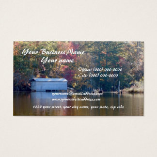 Boathouse on Blount's Creek Business Card