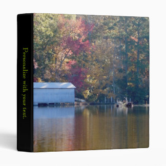 Boathouse on Blount's Creek - North Carolina Binder