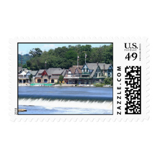 Boathouse Row 1 Postage