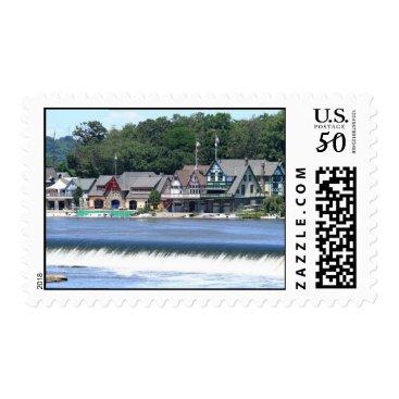 FordLou_cards Boathouse Row 1 Postage