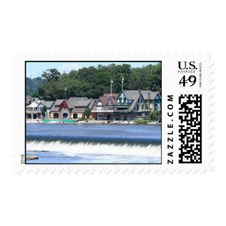 Boathouse Row 1 Stamp