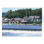 Boathouse Row 1 Stationery Note Card