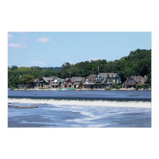 Boathouse Row 2 Poster