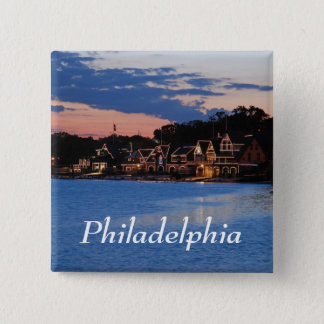 Boathouse Row dusk Button