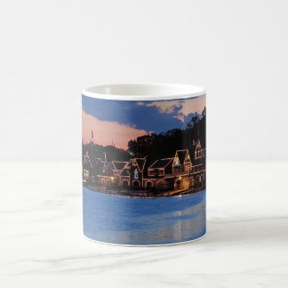 Boathouse Row dusk Coffee Mug