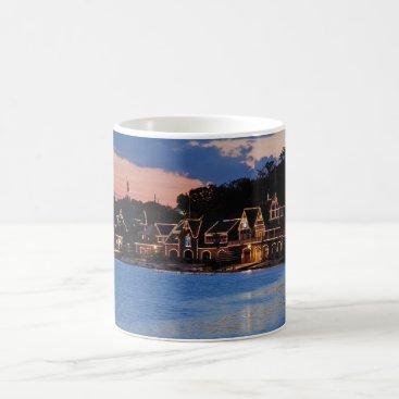 JLPhotographs Boathouse Row dusk Coffee Mug