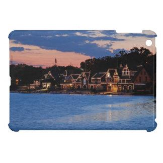 Boathouse Row dusk iPad Mini Cover