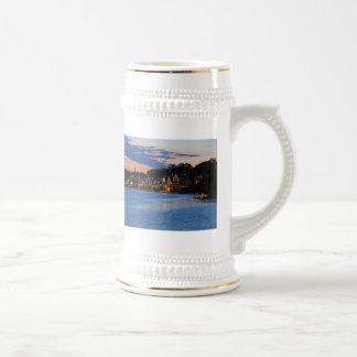 Boathouse Row dusk Mugs