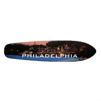 Boathouse Row dusk Skateboard