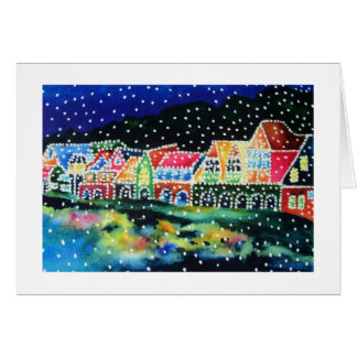 Boathouse Row Philadelphia, PA Christmas Card