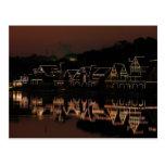 Boathouse Row Postcard