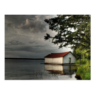 Boathouse viejo postal