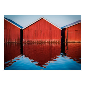 Boathouses Posters