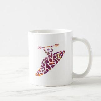 Boatin'`de la diversión del kajak taza de café