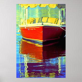 Boatin en Newport 2 - poster