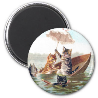 Boating Accident Fridge Magnets