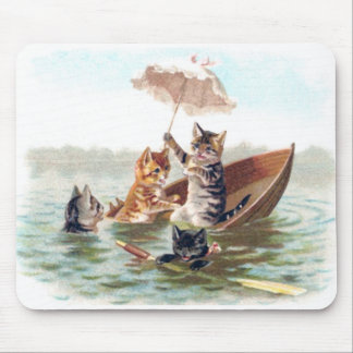 Boating Accident Mouse Pad