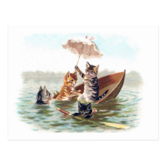 Boating Accident Postcard