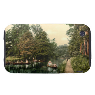 Boating at Camberley I, Surrey, England Tough iPhone 3 Cases