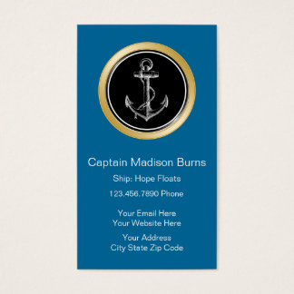 Boating Business Cards Vertical