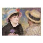 Boating Couple by Pierre-Auguste Renoir Custom Invite